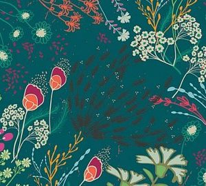 Art Gallery Fabrics - Legendary - Meadow Bold RAYON