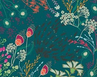 Art Gallery Fabrics - Legendary - Meadow Bold RAYON