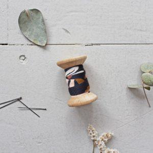 Atelier Brunette - Schrägband Posie Blue