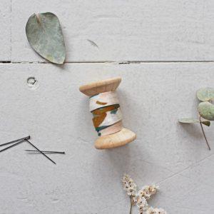 Atelier Brunette - Schrägband Posie Green