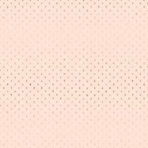 Cotton&Steel - Basics - Stitch and Repeat in Blush Metallic
