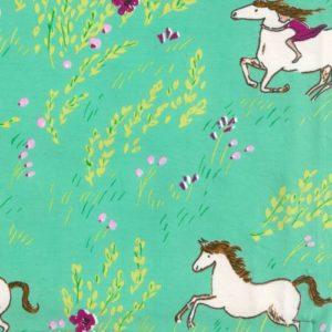 Michael Miller - Wee Wander Knit - Summer Gallop