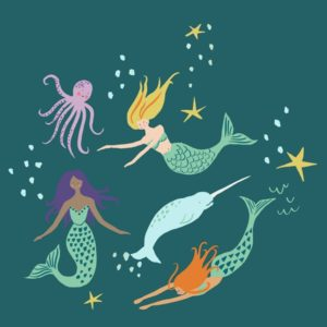monaluna - Magical Creatures - Mermaid Party