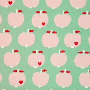 byGraziela - Wasserabweisender Canvas Äpfel (mint)