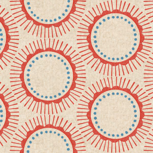 Cotton&Steel - Kibori - Tara Red (Canvas)