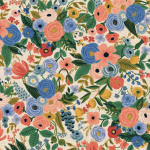 Cotton&Steel - Wildwood - Garden Party Blue (Canvas)