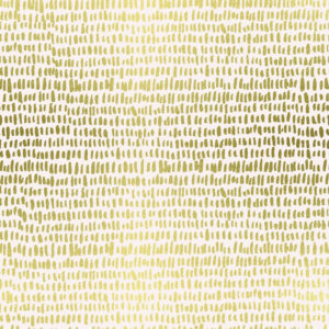 Cotton&Steel - Wildwood - Hatchmarks Cream Lawn Metallic