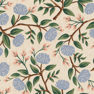 Cotton&Steel - Wildwood - Peonies cream (Canvas)