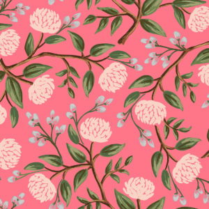 Cotton&Steel - Wildwood - Peonies Pink