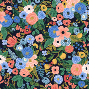 Cotton&Steel - Wildwood - Petite Garden Party Navy (Rayon)