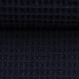Swafing - Waffel-Pique dunkelblau