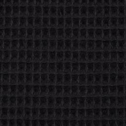 Swafing - Waffel-Pique schwarz