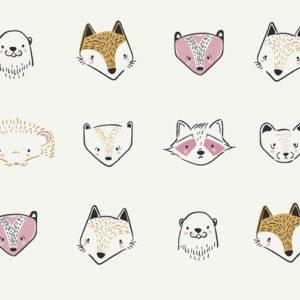 Art Gallery Fabrics - Capsules - Furries Sweet