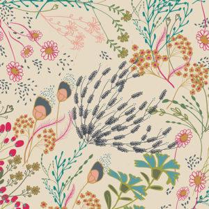 Art Gallery Fabrics - Indie Folk - Meadow Vivid