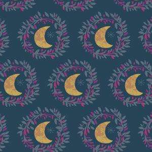 Art Gallery Fabrics - Mystical Land - Lunar Illusion Flame