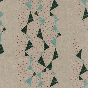 KOKKA - tayutou - Dreiecke grün