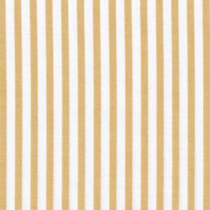 C.Pauli - Popeline Webstreifen tawny olive / weiß