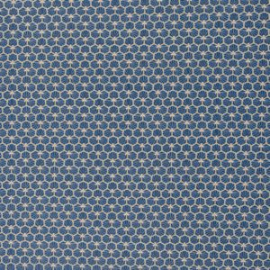 Swafing - Luna - Honigwaben dunkelblau