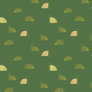 Art Gallery Fabrics - Dew & Moss - Moss's Snail Mail