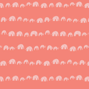 Art Gallery Fabrics - Selva - Elephants' Echo Earthy