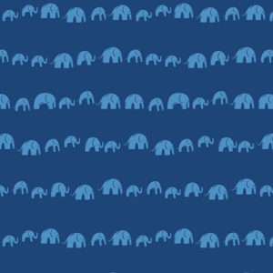 Art Gallery Fabrics - Selva - Elephants' Echo Electric