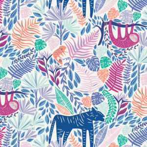 Art Gallery Fabrics - Selva - Junglen Joyus