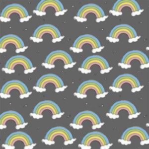 Bloome Copenhagen - Spring Time - Rainy Rainbows Steel Grey