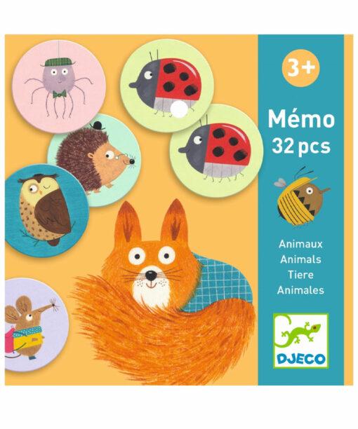 Lernspiele: Memo Tiere von DJECO