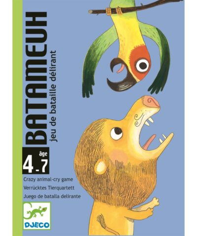 Djeco - Kartenspiel - Batameuh