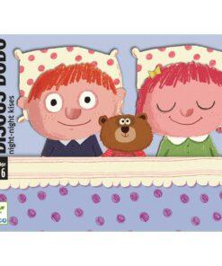 Djeco - Kartenspiel - Bisou Dodo