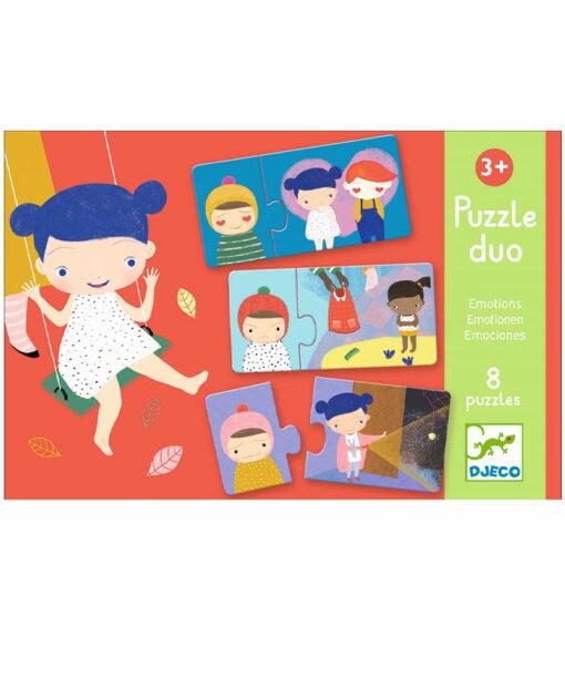 Lernspiel - Puzzle duo/trio: Gefühle von DJECO