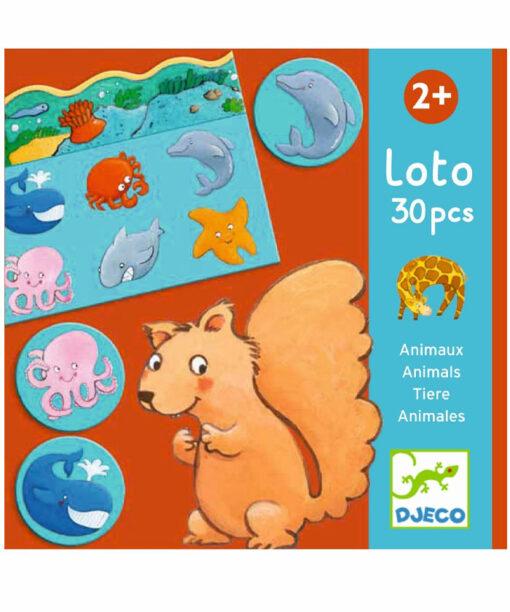 Djeco - Lottospiel Tiere