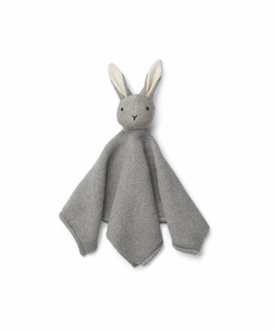 Liewood - Milo knit kuddle cloth - Rabbit grey melange