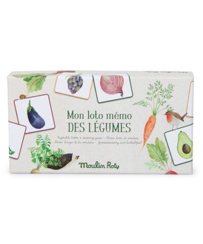 Moulin Roty - Memo - Das Gemüse