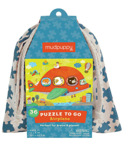 Mudpuppy - Puzzle To Go (Airplane)