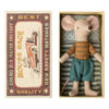 Maileg - Big brother mouse in box