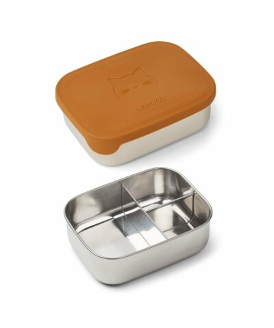 Arthur Lunch Box - Cat mustard