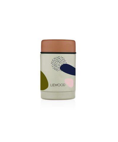 Liewood - Nadja food jar (Bubbly Sandy)