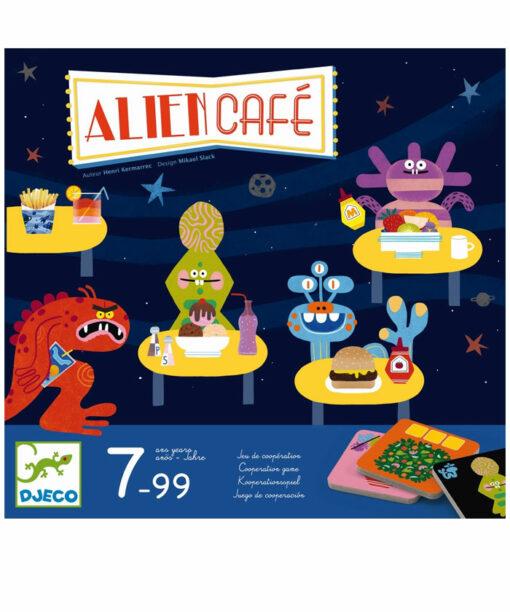 Spiele: Alien Café von DJECO