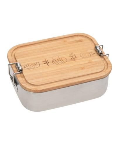 Kinder Brotdose Edelstahl - Lunchbox, Garden Explorer